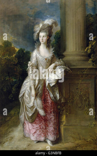 Thomas Gainsborough - The Honourable Mrs Graham (1757 - 1792) - Stock Image