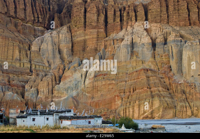 Dhawalagiri Nepal  city pictures gallery : Nepal Dhawalagiri Zone Mustang District Stock Photos & Nepal ...