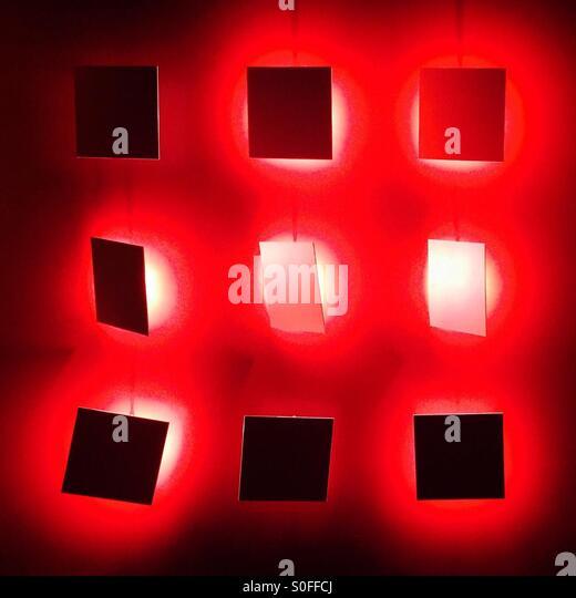 Red Art - Stock Image