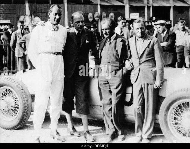 Ferdinand Porsche, (1930s?). - Stock Image