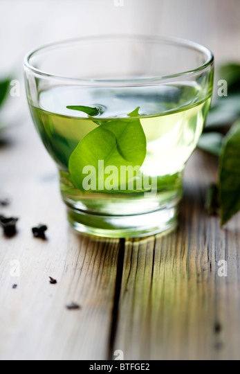 Green tea - Stock-Bilder