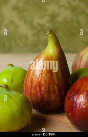 Single fig - Stock Image