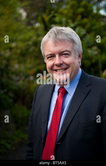 Welsh Assembly Government  First Minister CARWYN JONES - Stock Image
