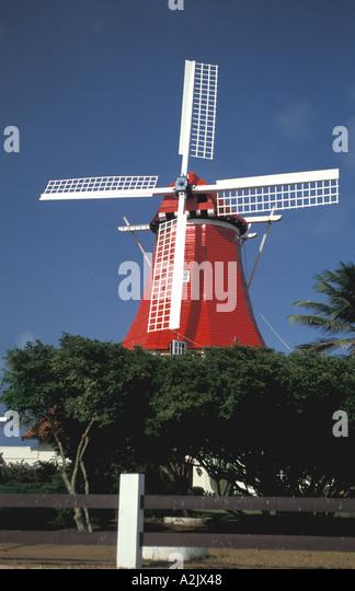 Aruba The Mill Restaurant Olde Molen - Stock Image