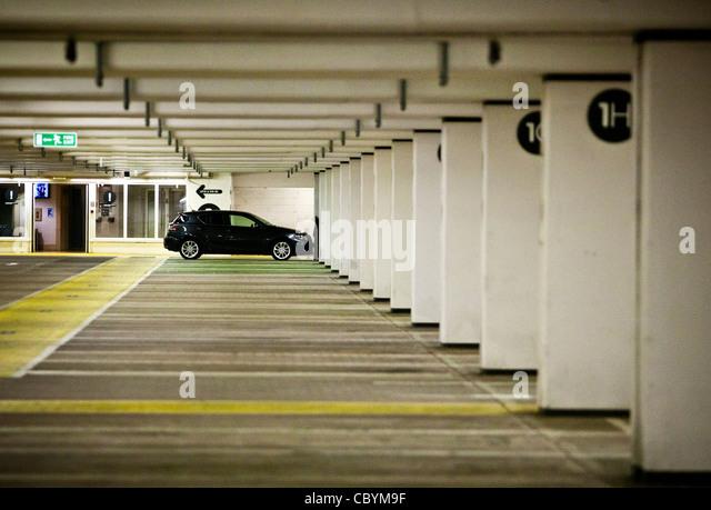 London Designer Outlet Red Car Parking