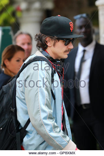 Venice, Italy. 03 September, 2016. James Franco arrives at the hotel Excelsior during the 73rd Venice Film Festival - Stock Image