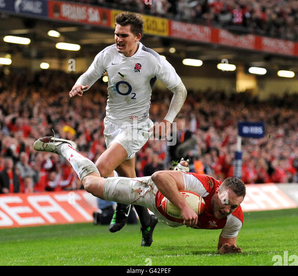 Old Deer Park Rugby Club: England V Wales Rugby Stock Photos & England V Wales Rugby