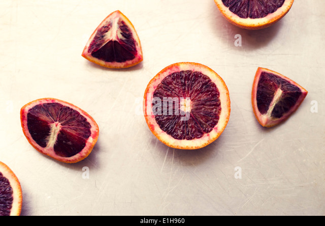 Blood Oranges - Stock Image