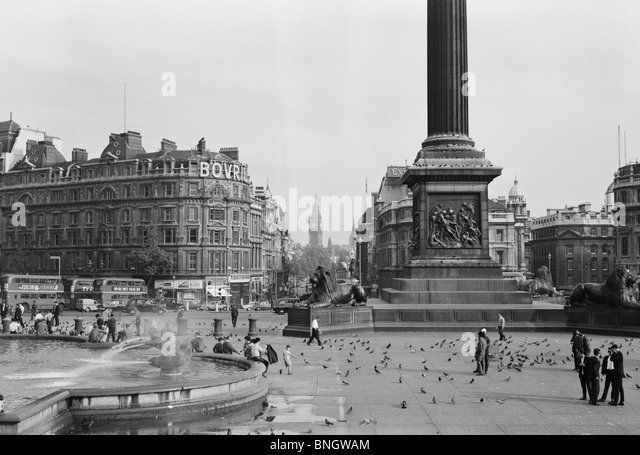 England, London, Trafalgar Square - Stock Image