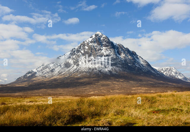 Stob Dearg the main peak of Buachaille Etive Mor - Stock-Bilder