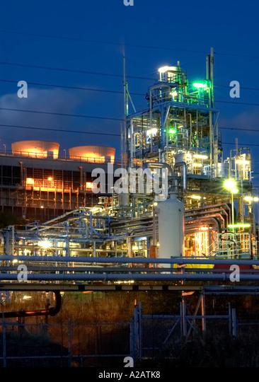 Power Unit at Runcorn Power Station Cheshire UK - Stock Image