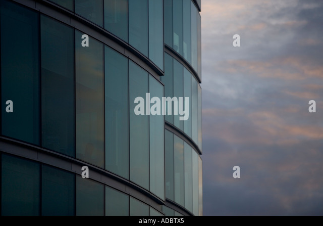 Modern Architecture in London UK - Stock Image