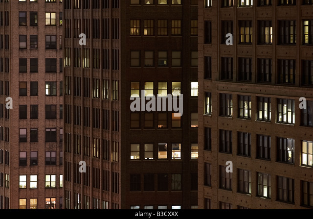 Building, close-up - Stock Image