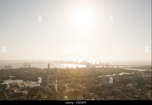 Boca Grande, Cartagena, Colombia - Stock Image