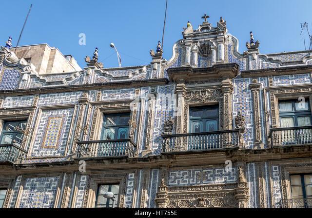Mexico house tile stock photos mexico house tile stock for Hacienda los azulejos