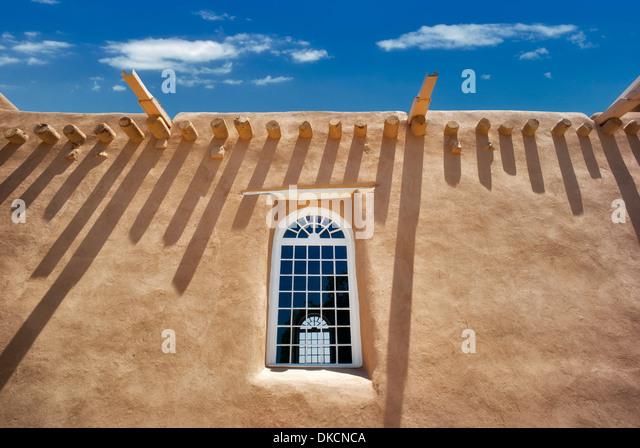 San Francisco de Asis Catholic Church. Taos New Mexico - Stock Image