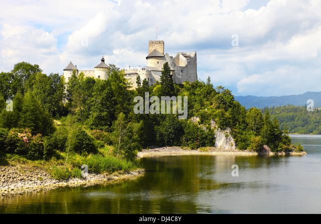 Dunajec Castle, Poland - Stock Image
