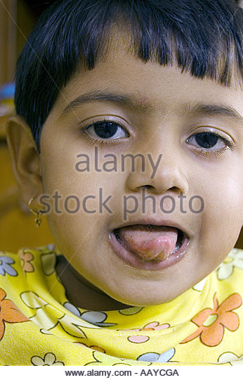 from Aaden indian girl tongue out