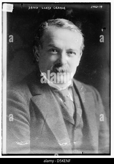 David Lloyd George (LOC) - Stock Image