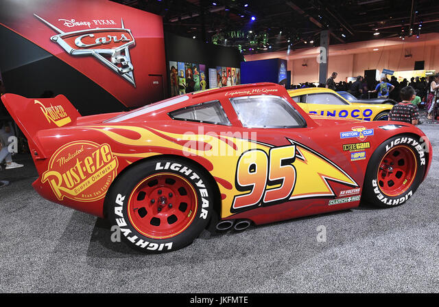 Anaheim, CA, USA. 16th June, 2017. Disney's Pixar Cars 3 at D23 Expo. All the magic and excitement of the past, - Stock Image