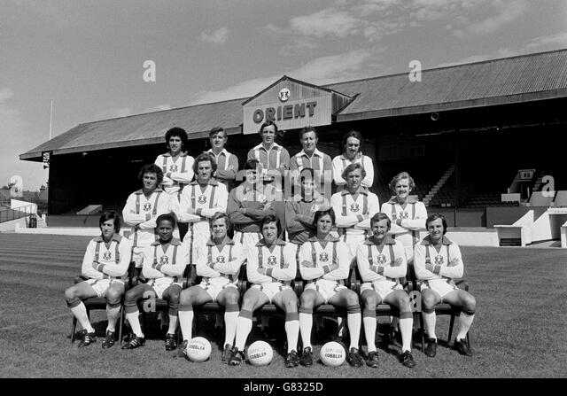 Soccer - Football League Division Two - Orient Photocall - Brisbane Road - Stock Image