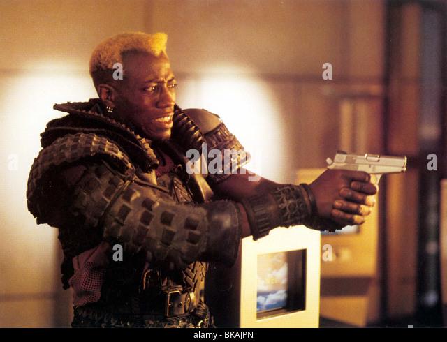 DEMOLITION MAN (1993) WESLEY SNIPES DMM 006FOH - Stock Image