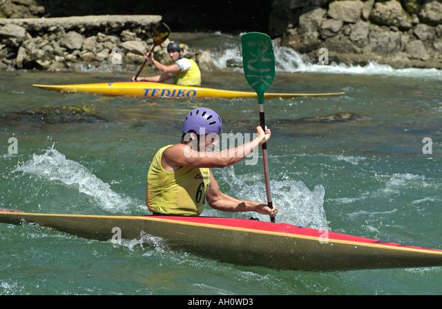 Kayaking - Stock Image