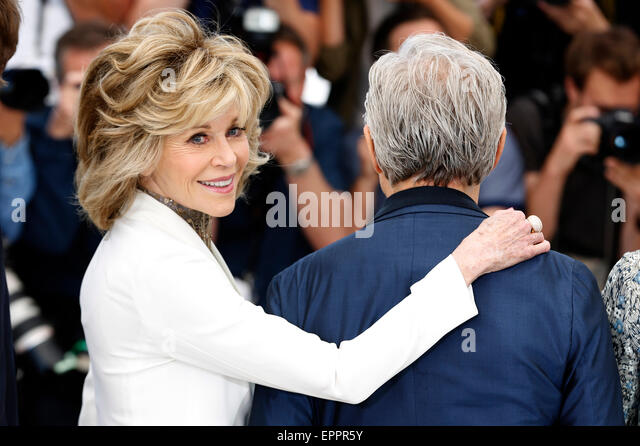 Jane Fonda during the 'Youth' photocall at the 68th Cannes Film Festival on May 20, 2015/picture alliance - Stock Image