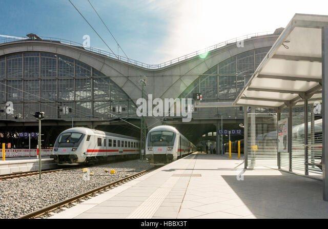 Leipzig Central Station - Stock-Bilder