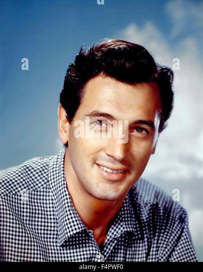 Rock Hudson in the 50's [Twentieth Century Fox Film Corpo] - Stock Image