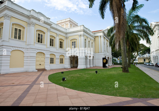 The Arts House, old Parliament Building, Singapore, Southeast Asia - Stock Image