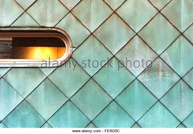 Full Frame Shot Of Tiled Wall - Stock Image
