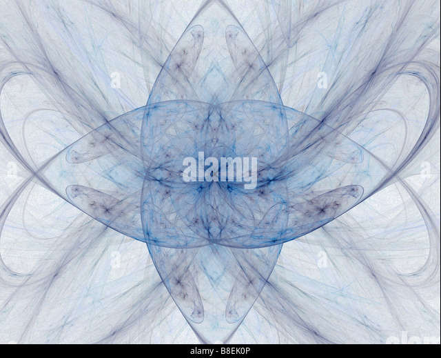 Abstract fractal pattern - Stock Image