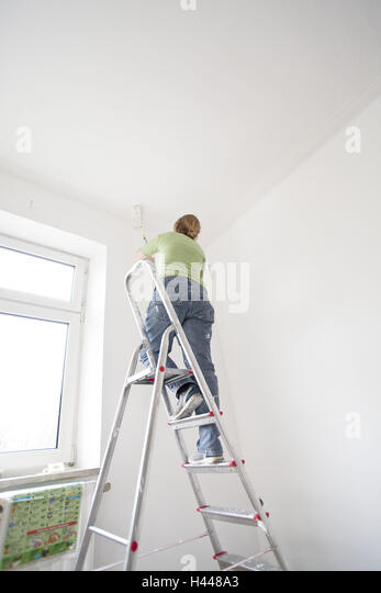 Folding Ladder Stock Photos Amp Folding Ladder Stock Images