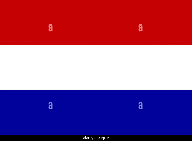 The flag of the Netherlands illustration - Stock Image