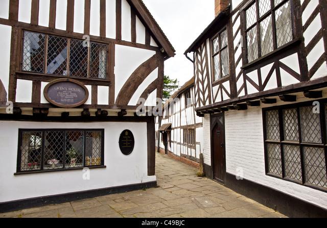 Oken's House in Warwick, England - Stock Image