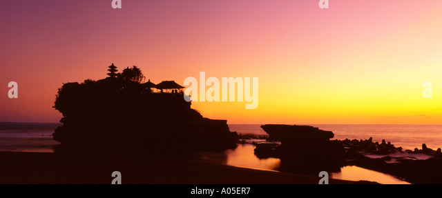Indonesia Bali Tanah Lot Temple - Stock Image