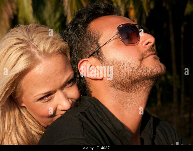 A man and woman together - Stock Image