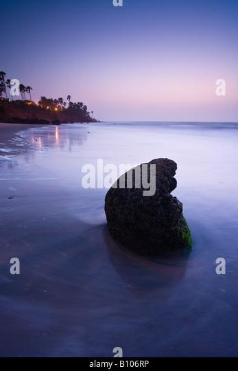 Dusk at Ngala beach, Bakau, Gambia, West Africa - Stock-Bilder
