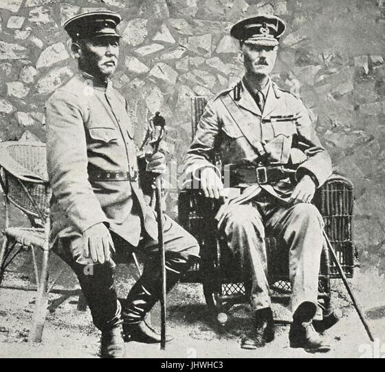Generals Kamio Mitsuomi & Barnardiston - Stock Image