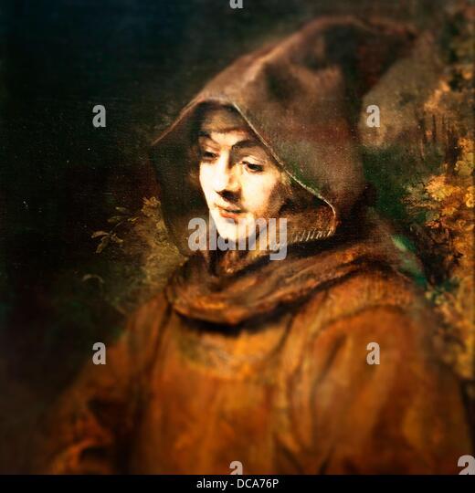 Rembrandt Exhibition Shell : Rembrandt van rijn dutch  stock photos
