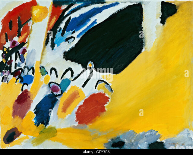 Wassily Kandinsky - Impression III (Concert) - Stock Image