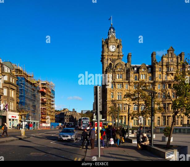 Light Shop In Edinburgh: Princes Street Edinburgh Shops Stock Photos & Princes