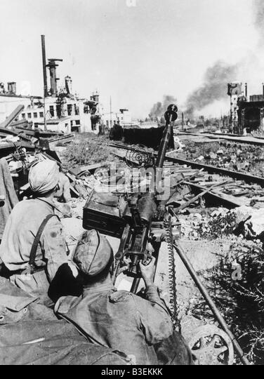 World War Two / Stalingrad / Battles - Stock Image