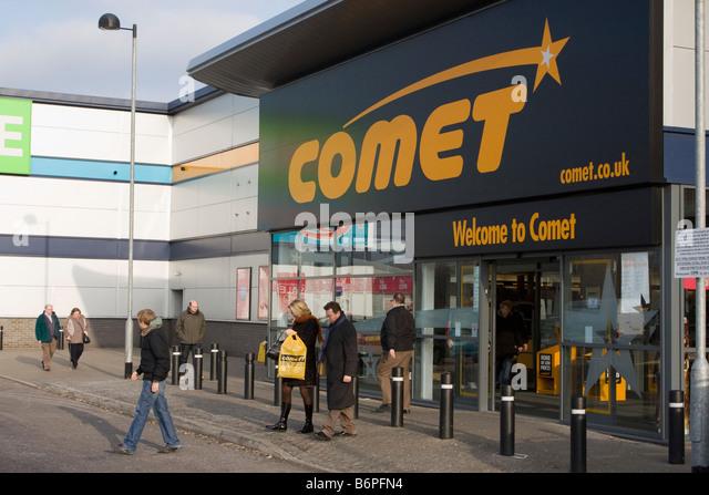 Comet Store Shop Uk Stock Photos Amp Comet Store Shop Uk