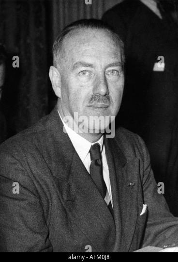 Zeeland, Paul van, 11.11.1893 - 22.9.1973, Belgian politician (Catholics Party), 25.3.1935 - 24.11.1937 Prime Minister, - Stock-Bilder