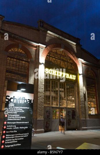 Switzerland Zurich Schiffbau theater and event hall in Kreis 5 - Stock Image