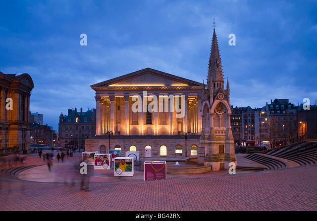 England, West Midlands, Birmingham, Town Hall - Stock Image
