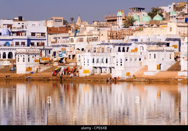 Pushkar Lake, Rajasthan, India, Asia - Stock-Bilder