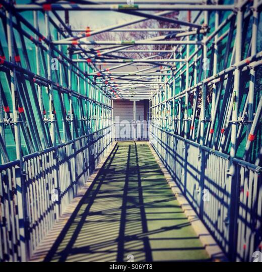 Bridge under construction - Stock-Bilder
